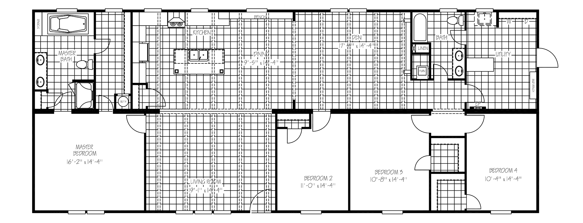 The Lincoln Floorplan
